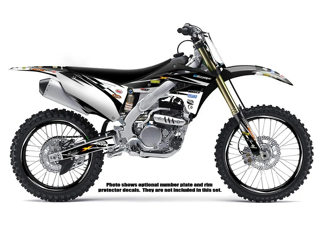 2006 2007 2008 KXF 250 GRAPHICS KIT KAWASAKI KX250F KX F