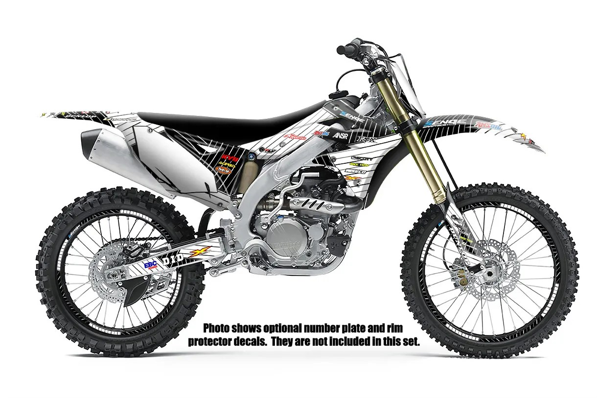1994 1995 KX 125 250 GRAPHICS KAWASAKI KX125 KX250 DECO