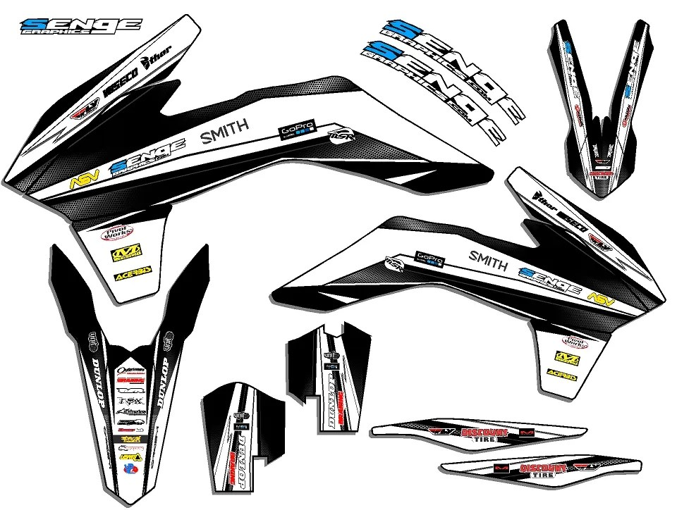 FITS KTM 2014 EXC 250 350 450 500 GRAPHICS KIT DECALS DECO