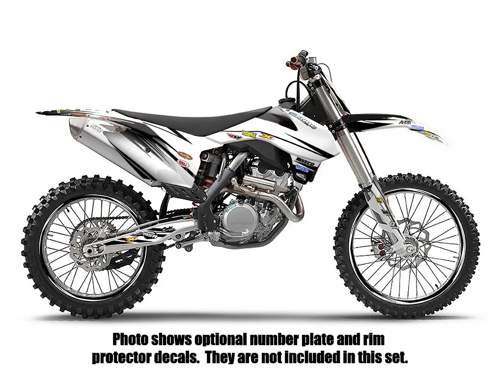 Purchase 2002 KTM SX 125 250 380 400 520 GRAPHICS KIT DECO