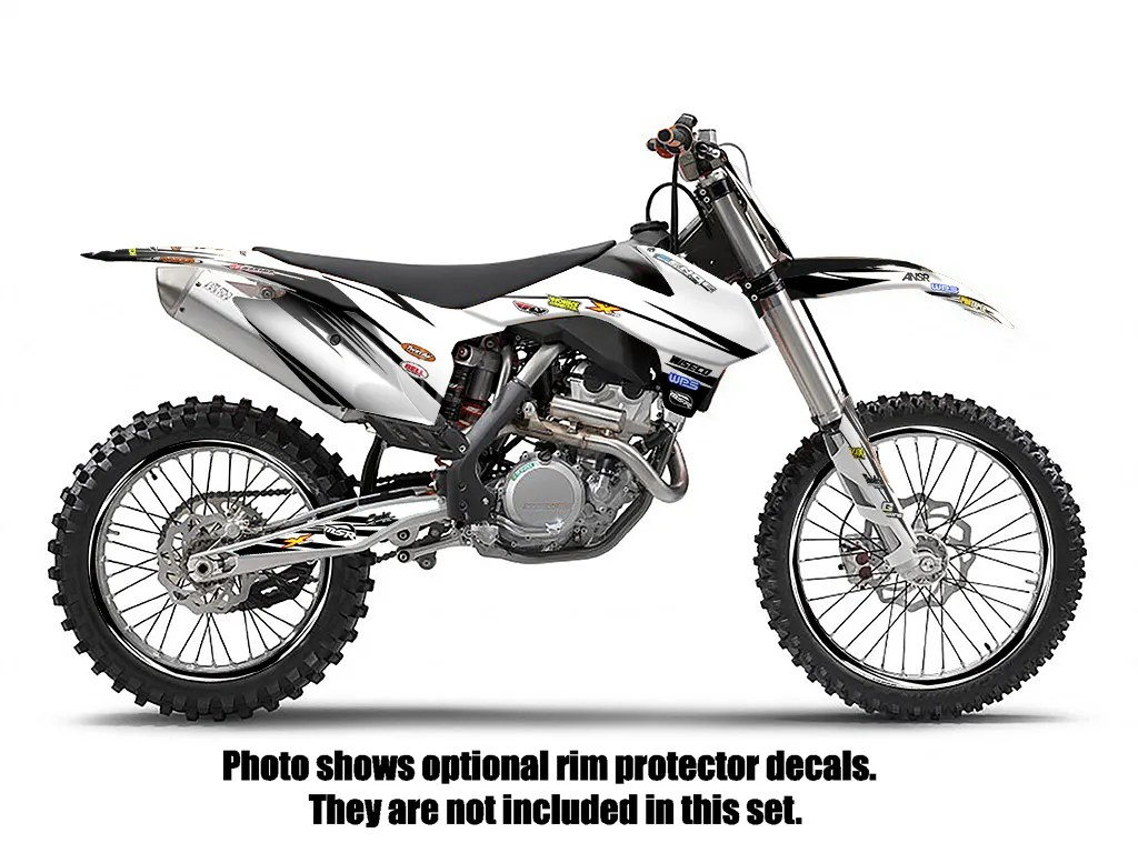 2007 2008 2009 2010 KTM SX SXF 125 250 450 525 GRAPHICS