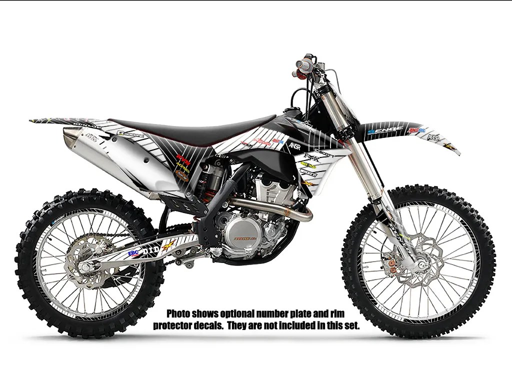 2001 2002 KTM EXC 125 200 250 300 380 400 520 GRAPHICS KIT
