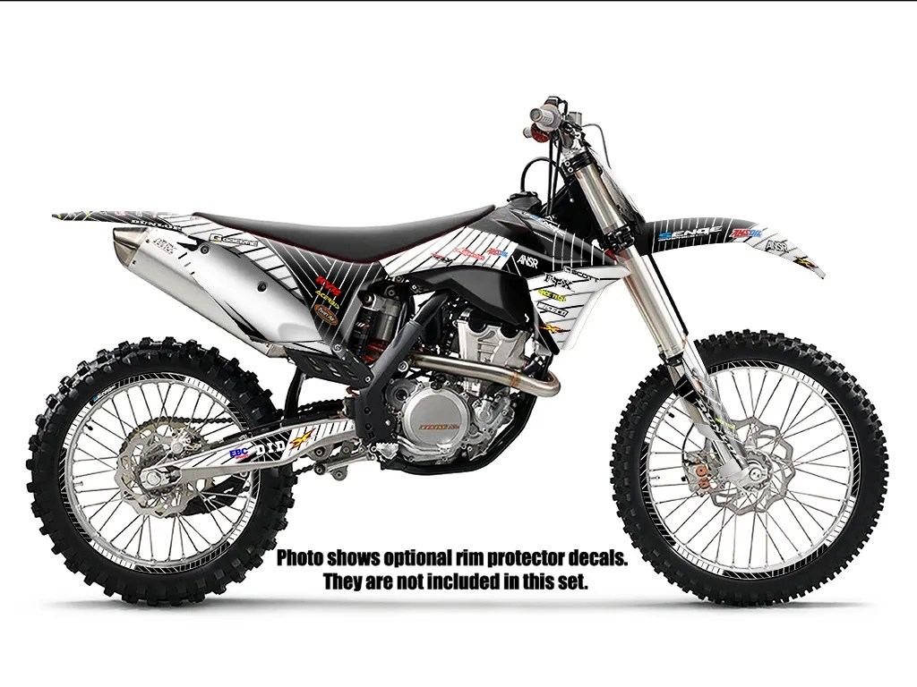 Find 2002 KTM SX 125 250 380 400 520 GRAPHICS KIT DECO