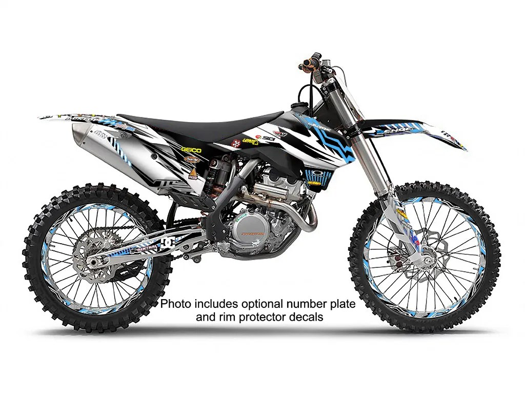 2011 2012 KTM SX 125 150 250 2-STROKE GRAPHICS KIT DECO