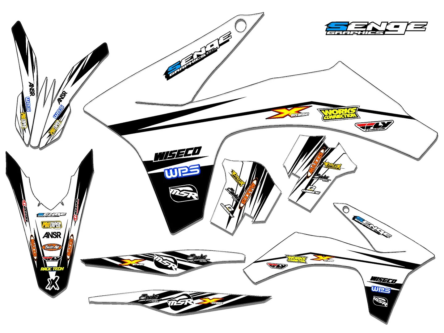 Sx 50 Graphics Kit Ktm Sx50 50sx Deco