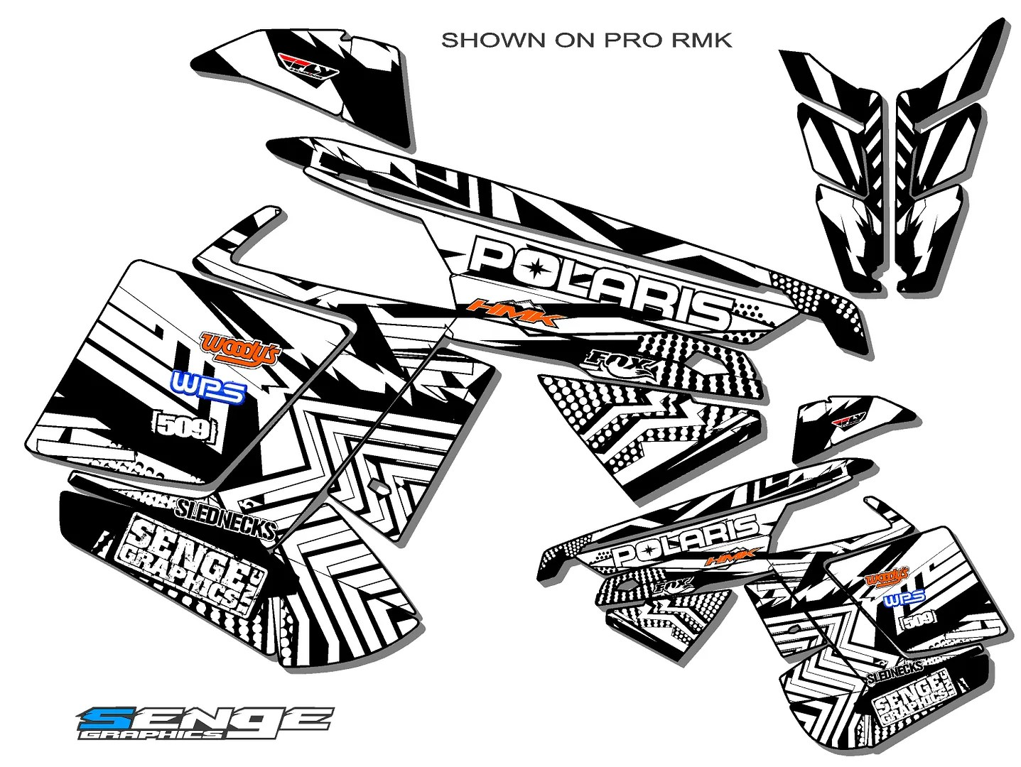 2011 2012 2013 2014 POLARIS PRO RMK SWITCHBACK PRORMK