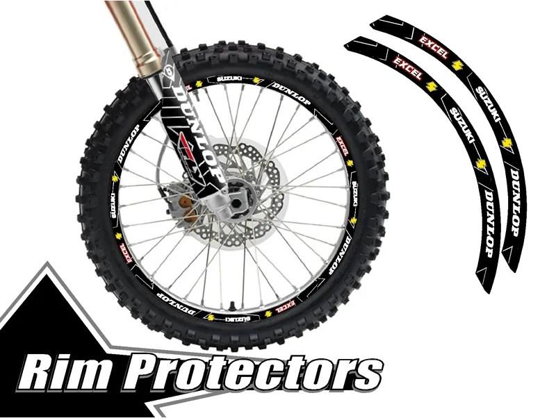 Sell 10 & 10 INCH DIRTBIKE RIM PROTECTORS 10