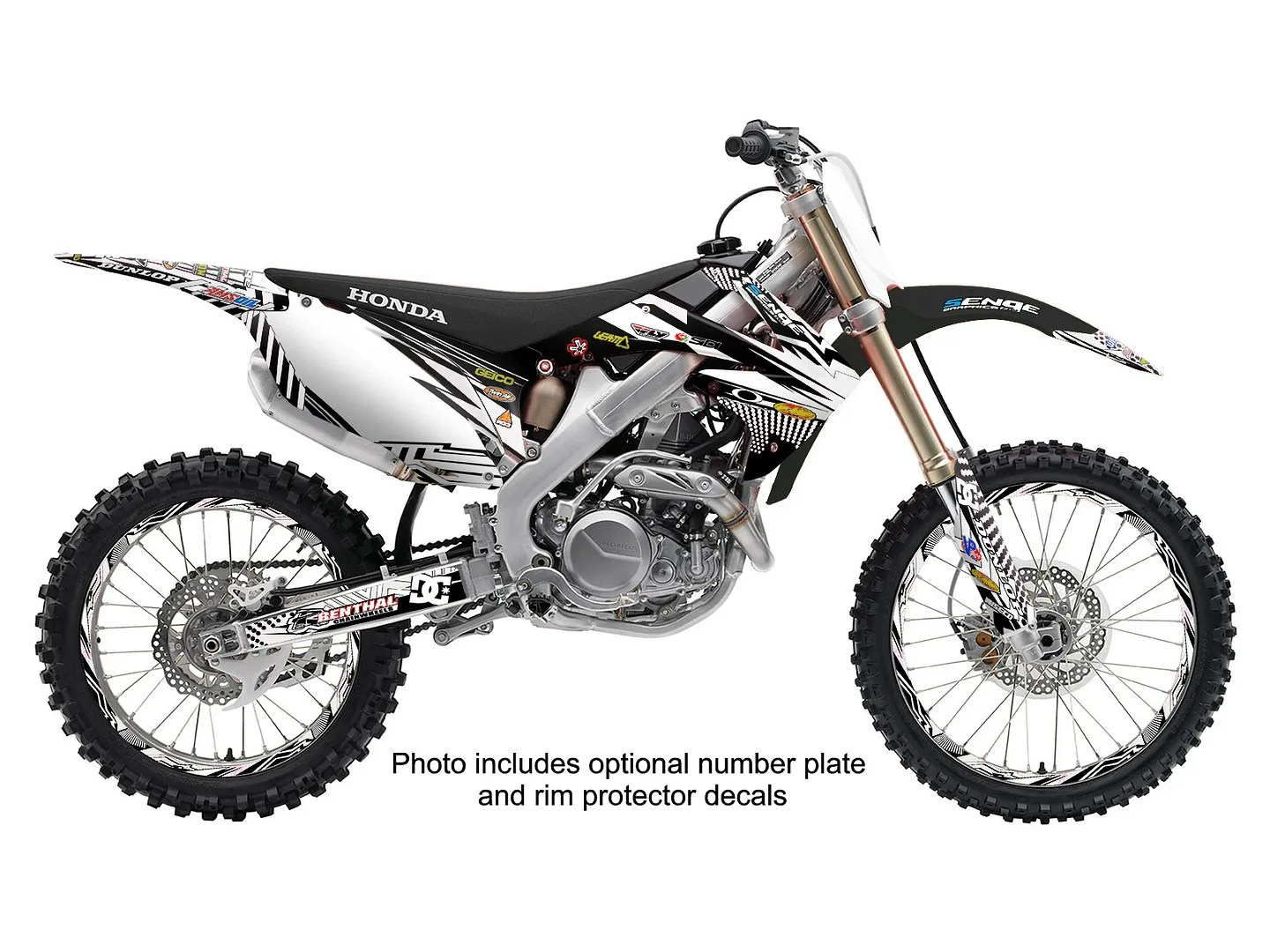2008 2009 CRF 250R GRAPHICS KIT CRF250R 250 R DECO STICKER