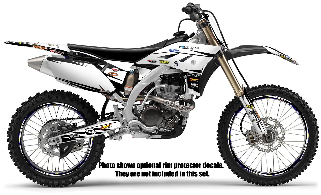 2006 2007 YZ 250F 450F GRAPHICS KIT YZ250F YZ450F YAMAHA