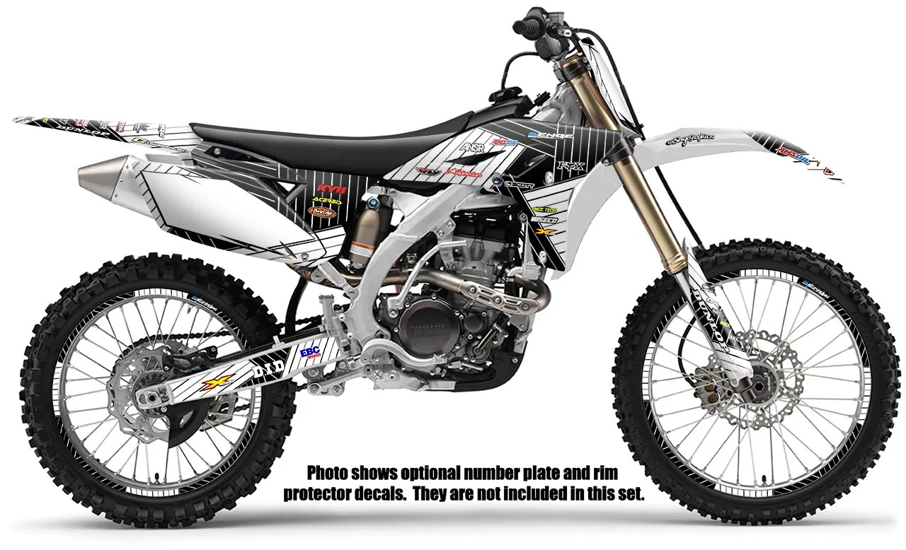 2010 2011 2012 2013 YZ 450F GRAPHICS KIT YZ450F YAMAHA