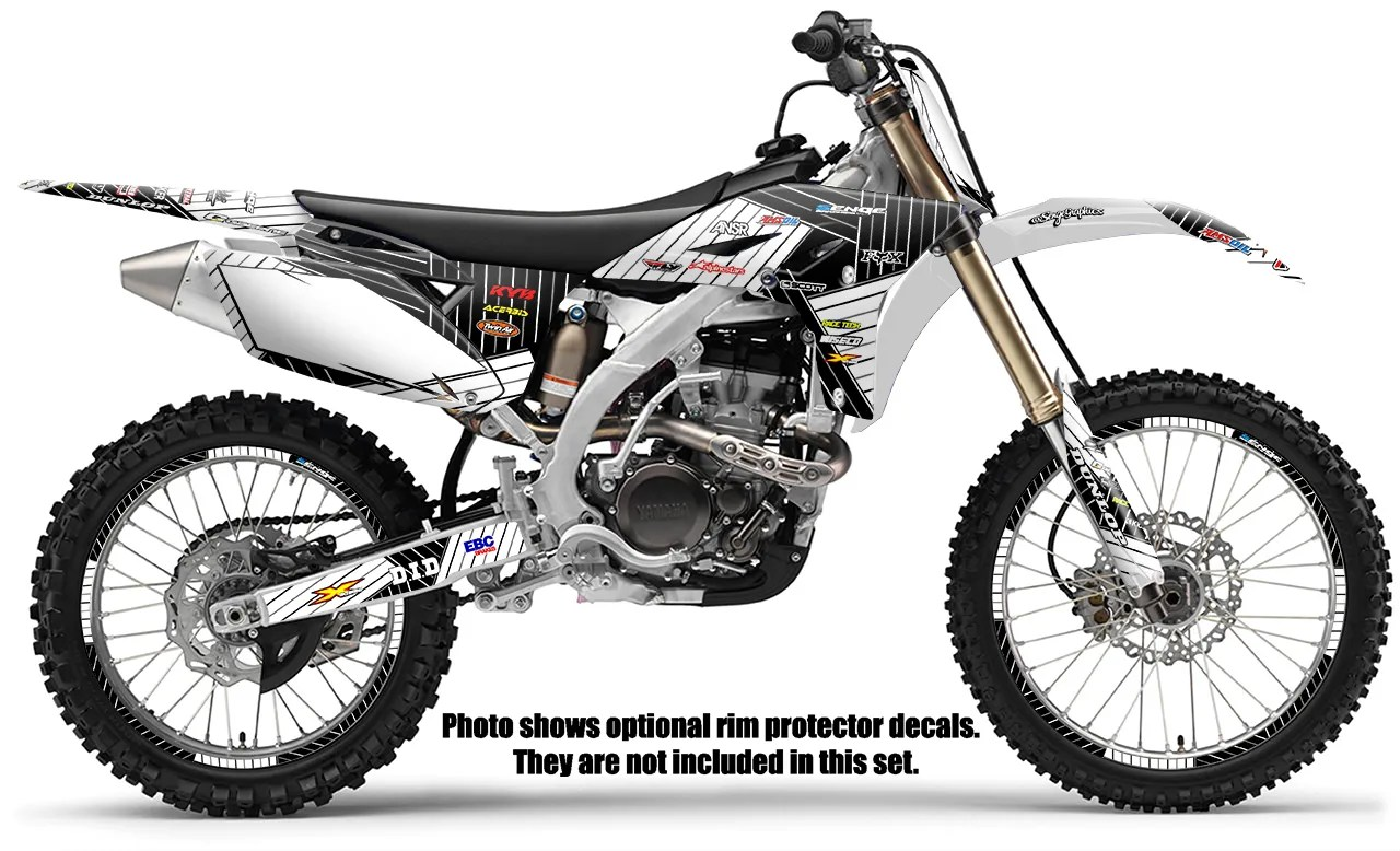2003 2004 YZ 250F 450F GRAPHICS KIT YZ250F YZ450F YAMAHA