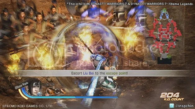 Dynasty Warriors 7 / Dynasty Warriors 7: Xtreme Legends DLC