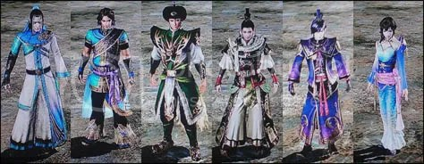 Dynasty Warriors 7: Xtreme Legends - New Costumes