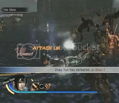 Dynasty Warriors 7 - Weapon Switching