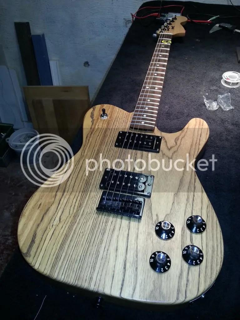 Grain Sealer Guitar
