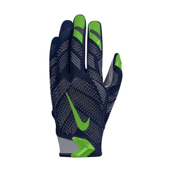 Nike Vapor Knit Nfl Seahawks Gf0467-419 Navy Grey Green