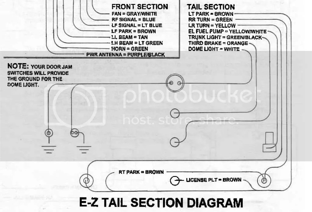ez dome light wiring harness diagram snugtop wiring