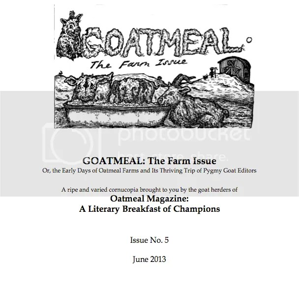 goatmeal cover