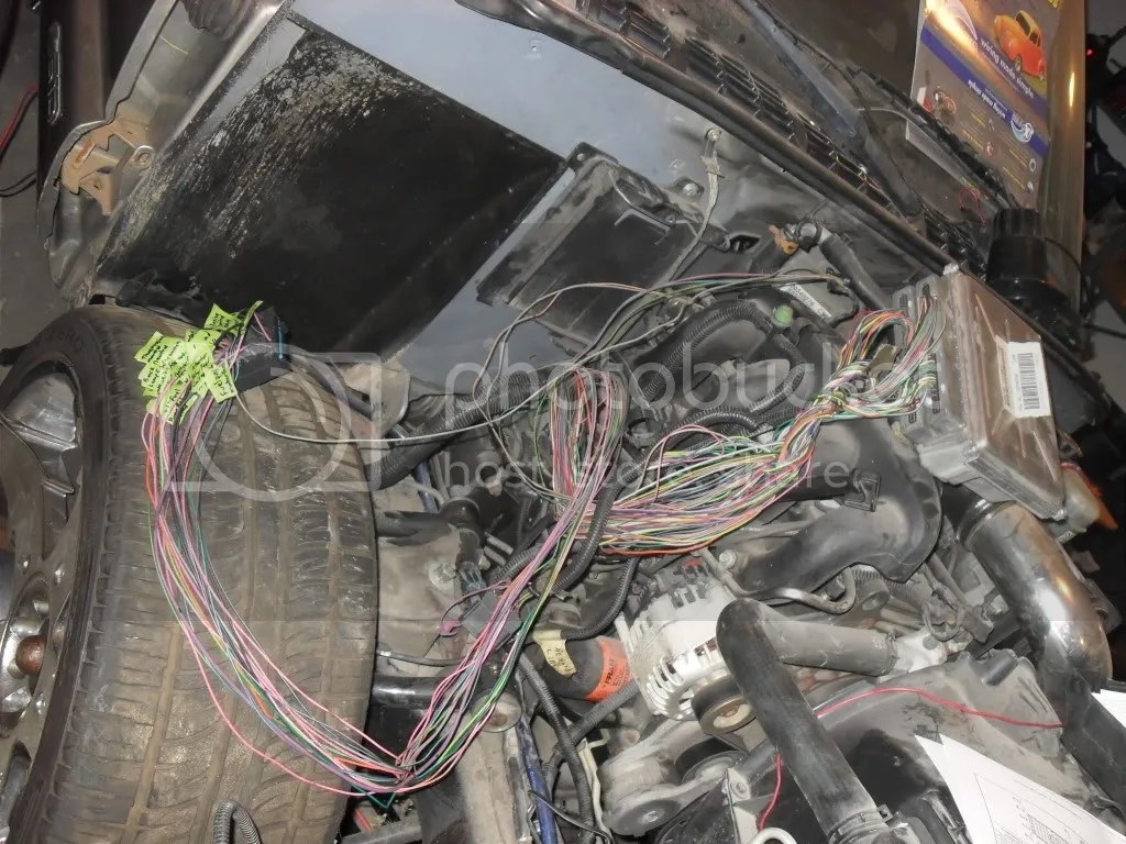 2000 Chevy S10 Wire Harness