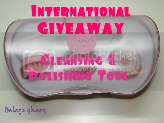 Sigma Cleansing & Polishing Tool Giveaway