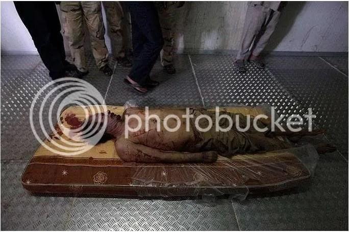 Singa Arab itupun tewas, dibantai rakyatnya sendiri!