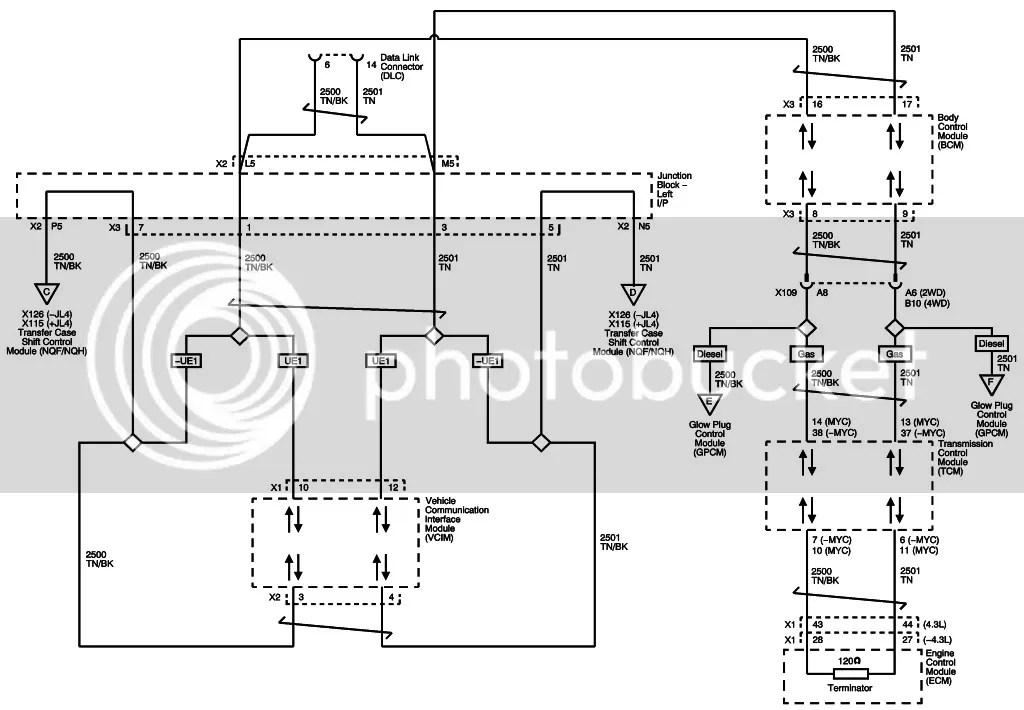U0073 control module communication bus off cadillac