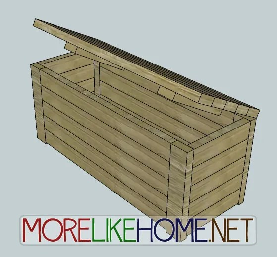 Day 17 - Build an Outdoor Storage Bench