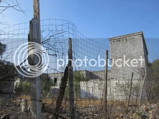 Abandoned & fence