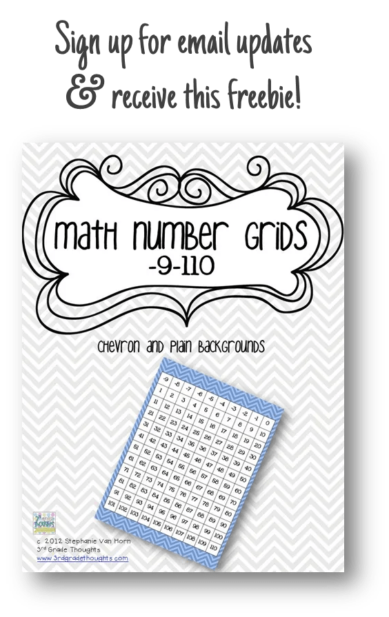 3rd Grade Thoughts: Class Rules Printables & Gestures