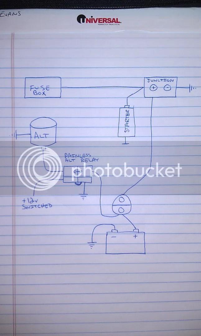 Basic Ford Solenoid Wiring Diagram Http Wwwcrankshaftcoalitioncom