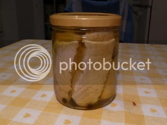 Tonno sott'olio casalingo (foto)