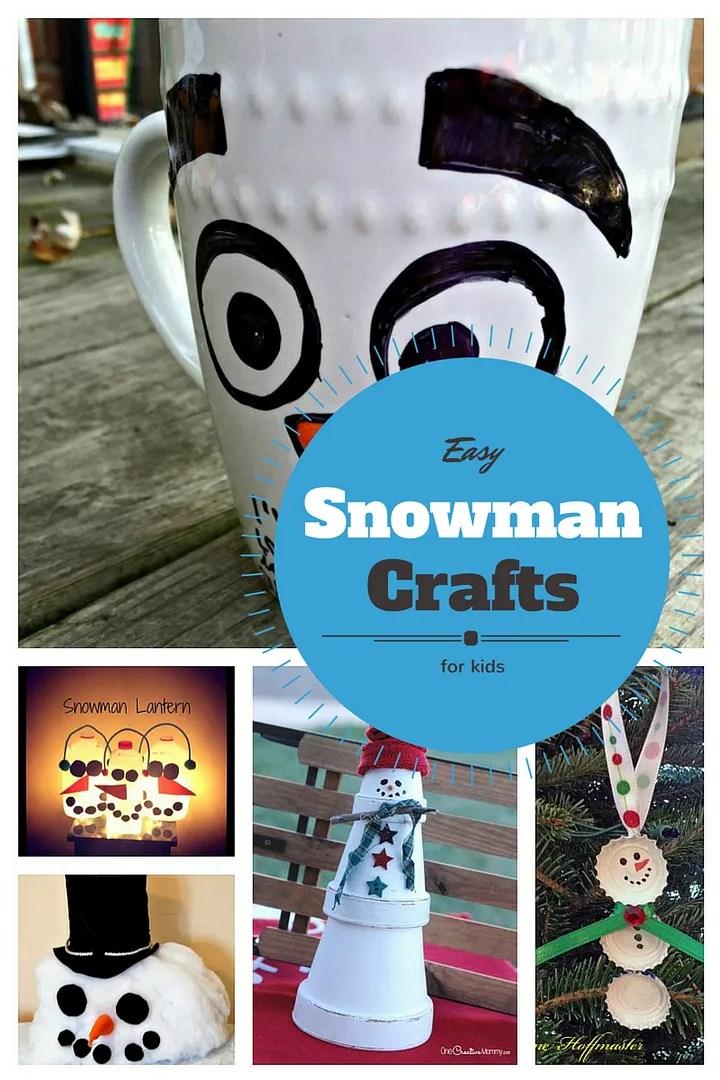 Snowman Winter Crafts