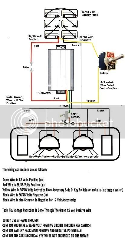 Lights install diagram 48V 2004 CC DS