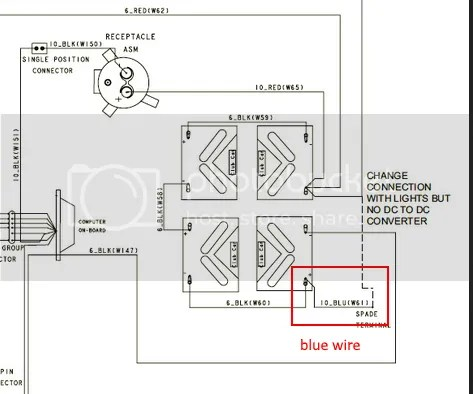 Blue wire goes where,2006 Club Car 48 volt