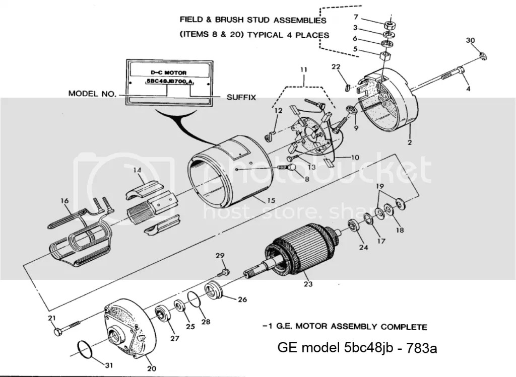 1987 marathon elec motor diagram