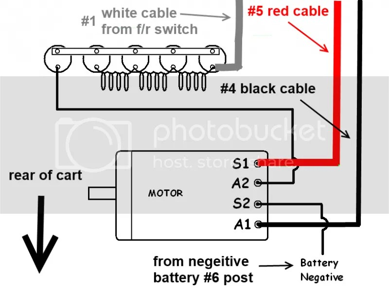 club car 36v batteries diagram 2006 ford f350 wiring mid 90s ds runs without key on - page 3