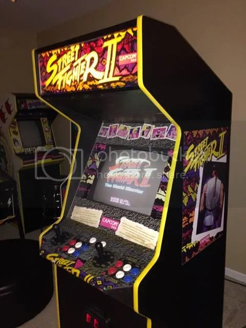 Image result for street fighter 2 cabinet