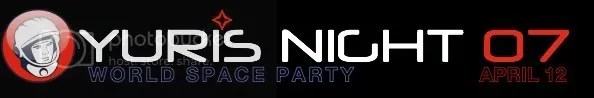 Yuri's Night 2007 banner