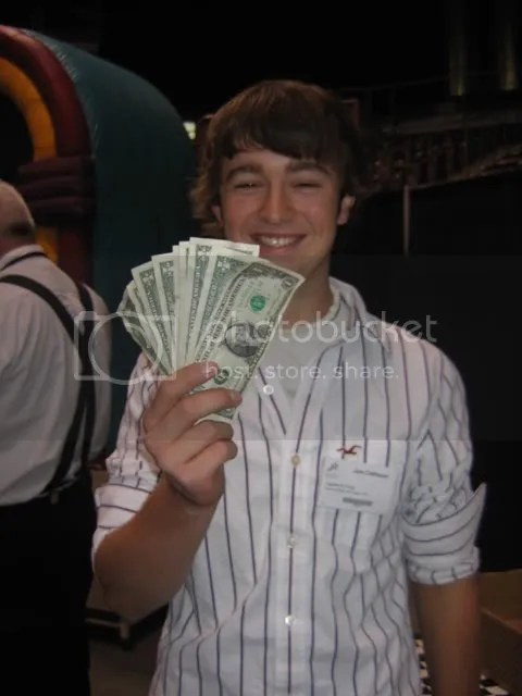 Nine Bucks Richer