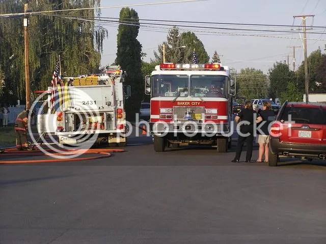Firetrucks on D Street