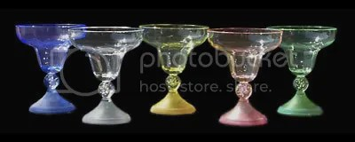 LED Margarita Glasses