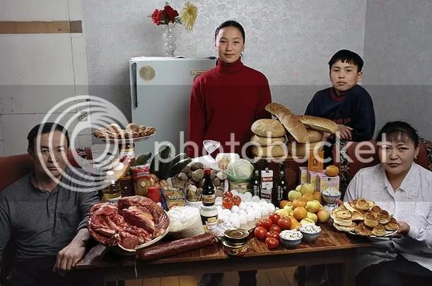 Mongolia Hungry Planet
