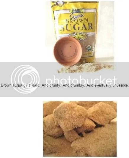 Brown Sugar gets hard