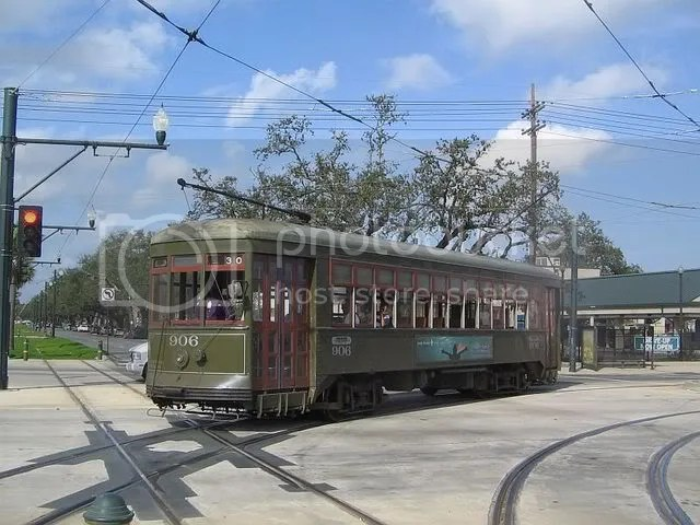 Cable Car, Garden District, New Orleans