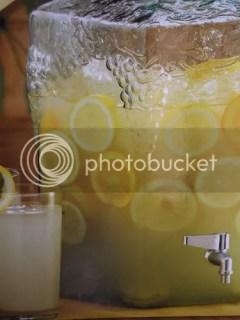 home made lemon lime lemonade