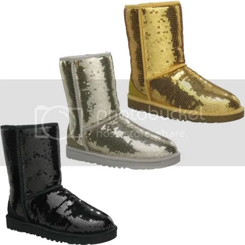 Uggs with SEQUINS!