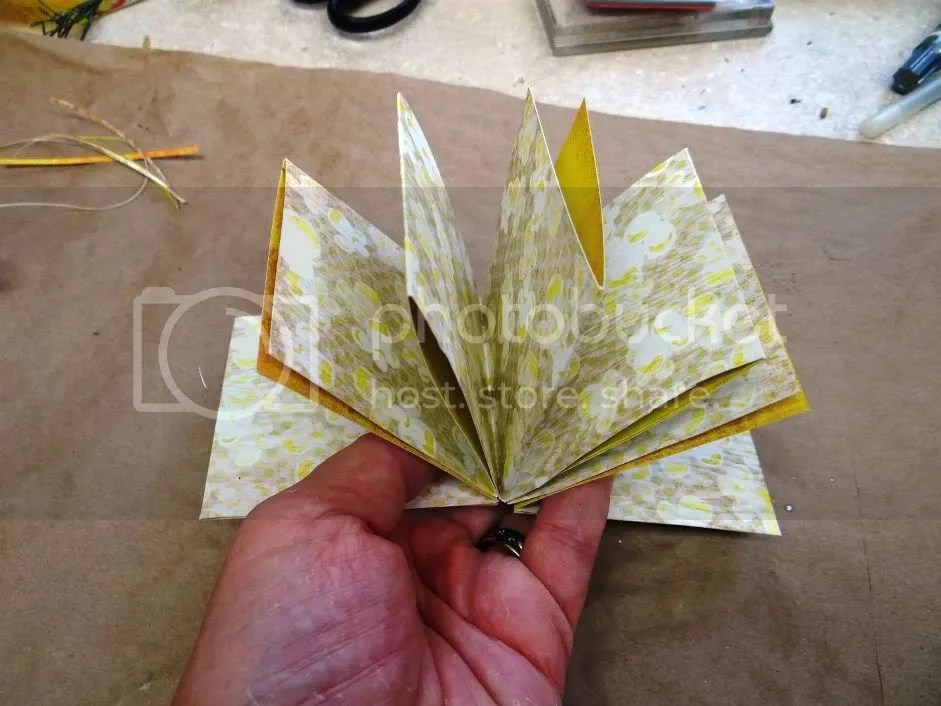 Handmade Book Pocket Pages