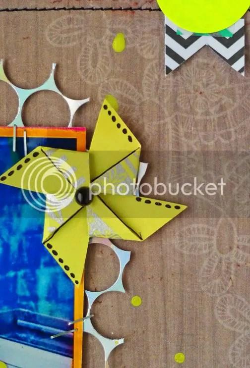Pinwheel Neon Punchinella