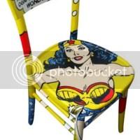 Móveis vintage: quadrinhos e pop art