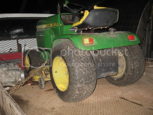 small resolution of john deere 210 with pics
